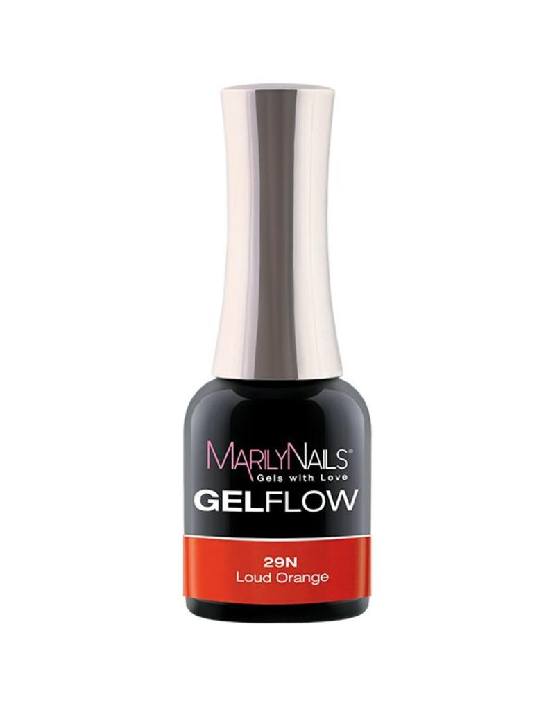 MarilyNails MN GelFlow - Loud Orange #29N