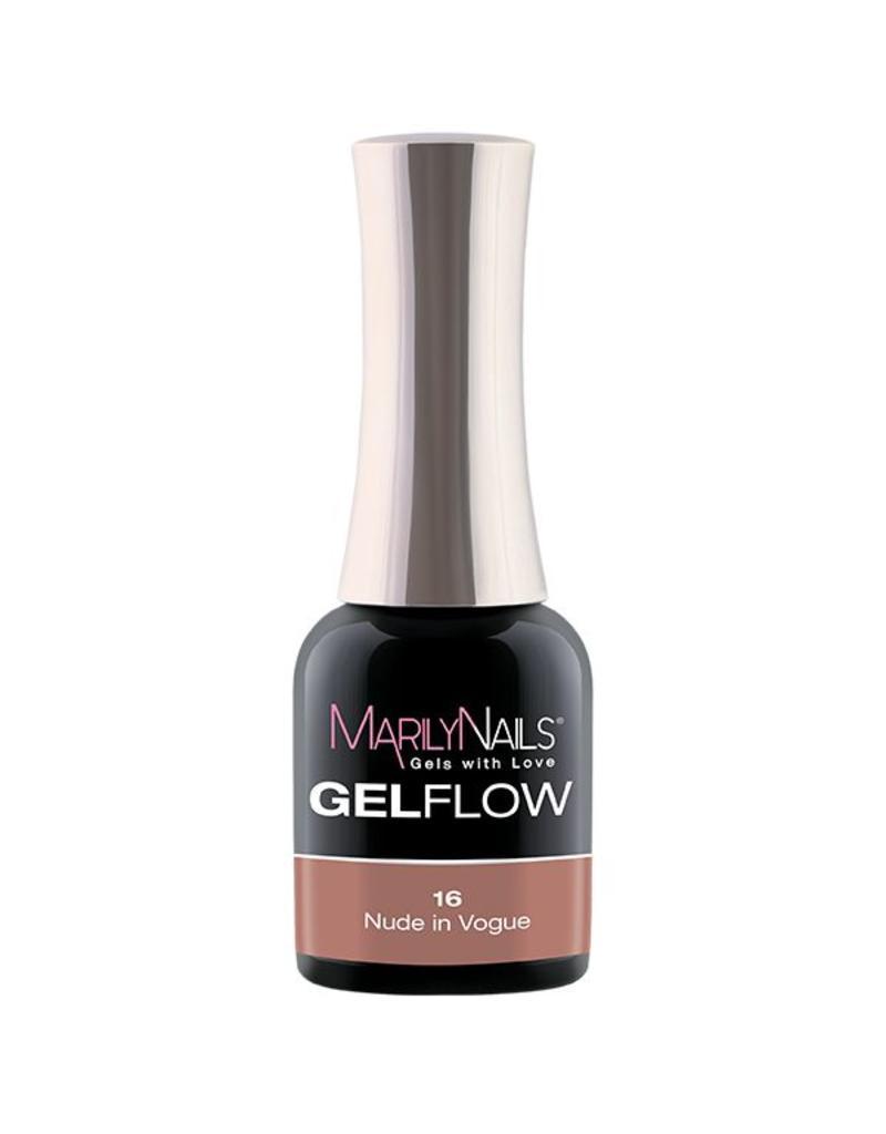 MarilyNails MN GelFlow - Nude In Vogue #16