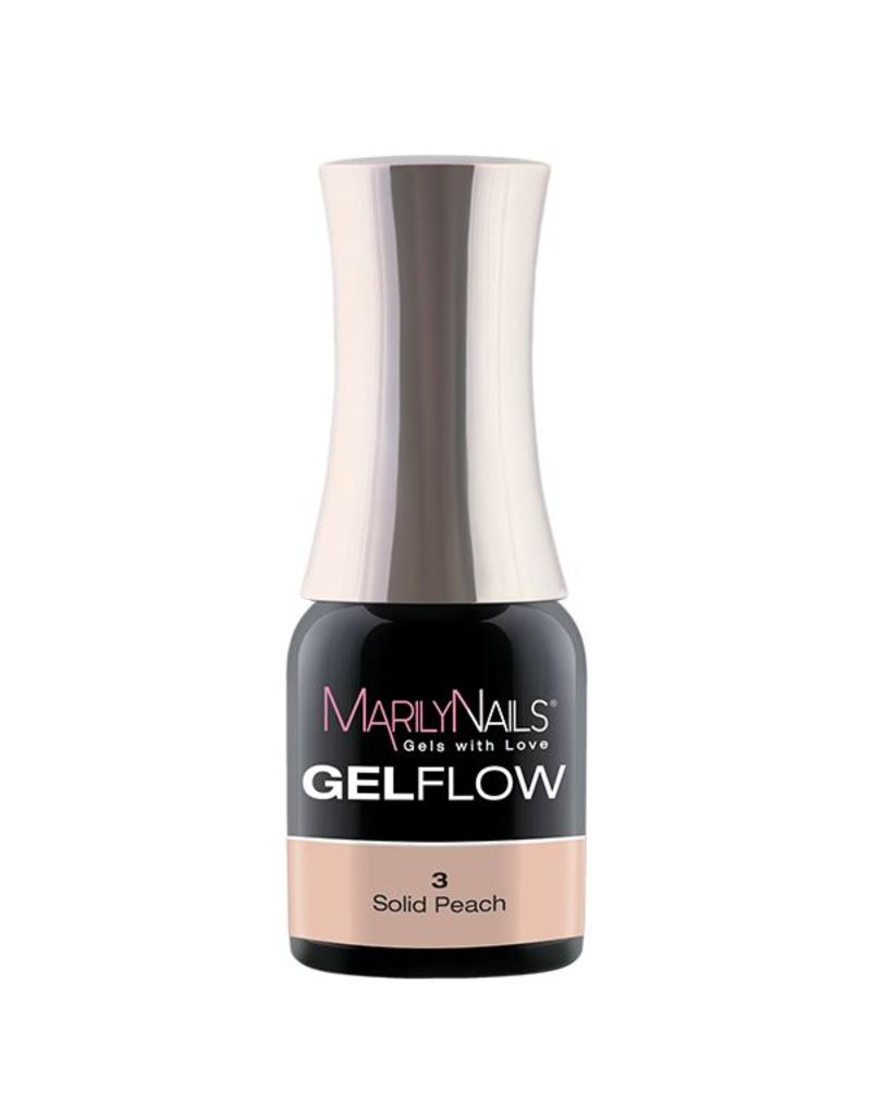 MarilyNails MN GelFlow - Solid Peach #3