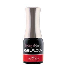 MarilyNails MN GelFlow - Vibrant Coral #30N