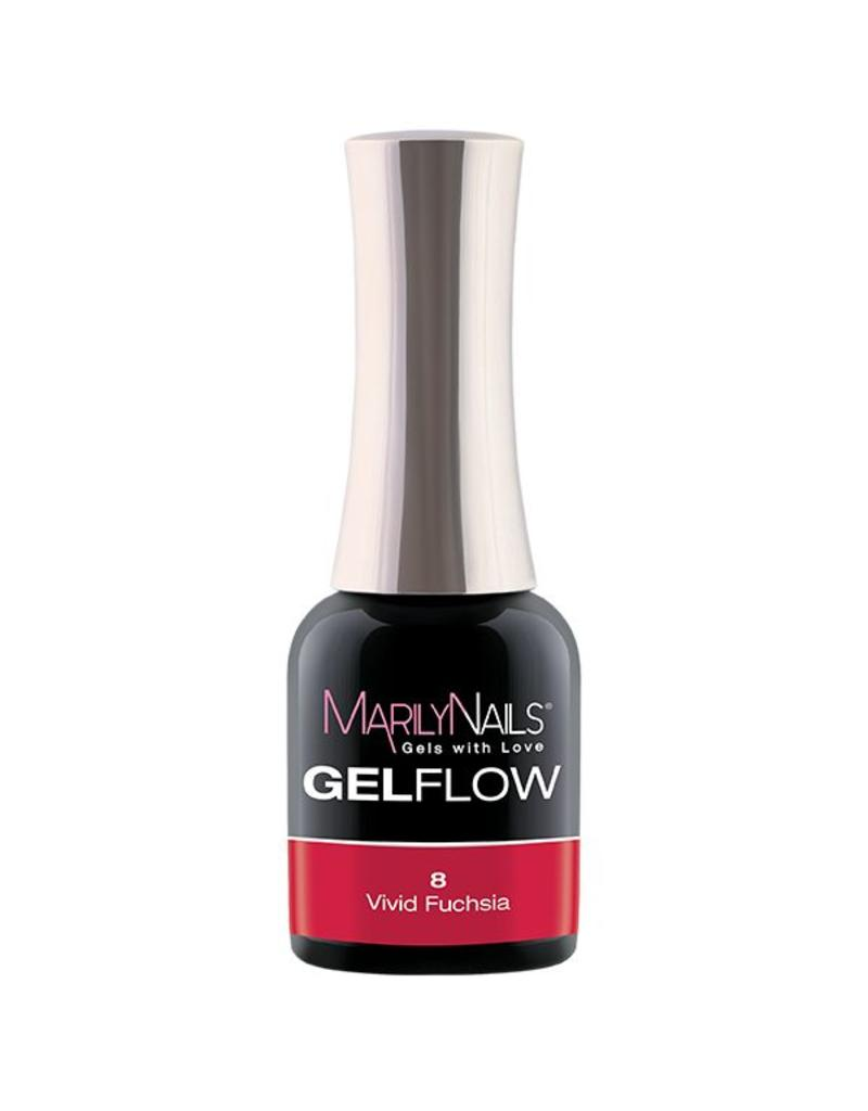 MarilyNails MN GelFlow - Vivid Fuchsia #8