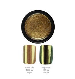 Crystal Nails CN ChromeMirror Pigment - Gold