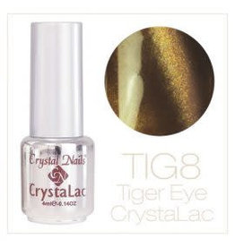 Crystal Nails CN Tiger Eye Crystalac 4 ml.  #08