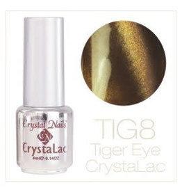 Crystal Nails CN Tiger Eye Crystalac 4 ml.  #08