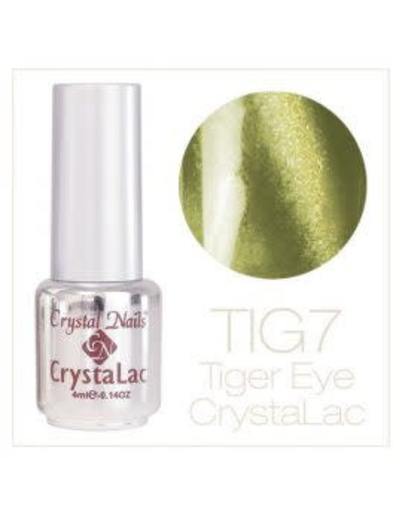 Crystal Nails CN Tiger Eye Crystalac 4 ml.  #07