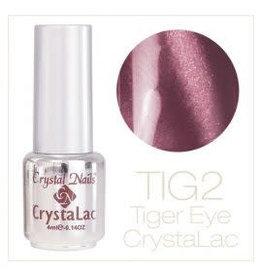 Crystal Nails CN Tiger Eye Crystalac 4 ml.  #02