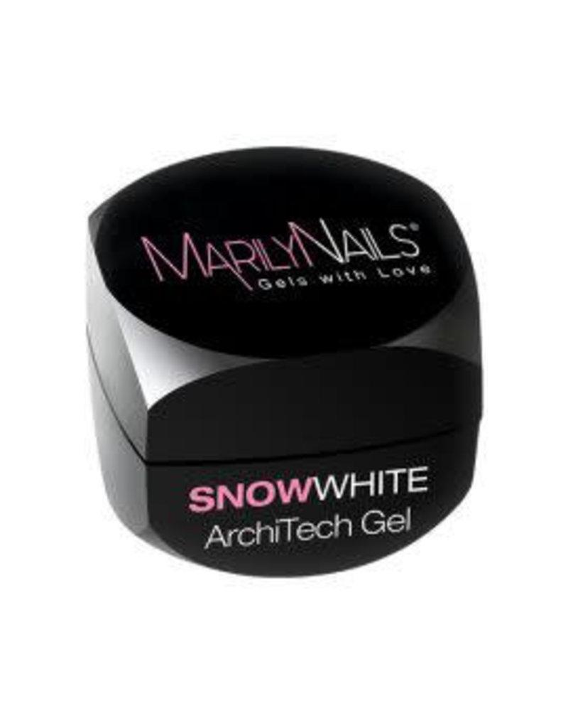 MarilyNails MN ArchiTech-Snow White 13 ml.