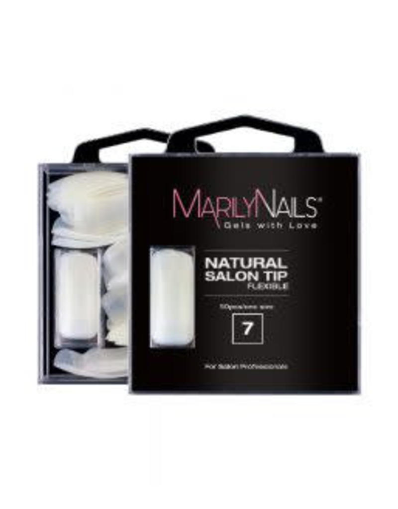 MarilyNails MN Natural Tips refill 50 stuks