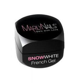 MarilyNails MN  SnowWhite French Gel 3 ml.
