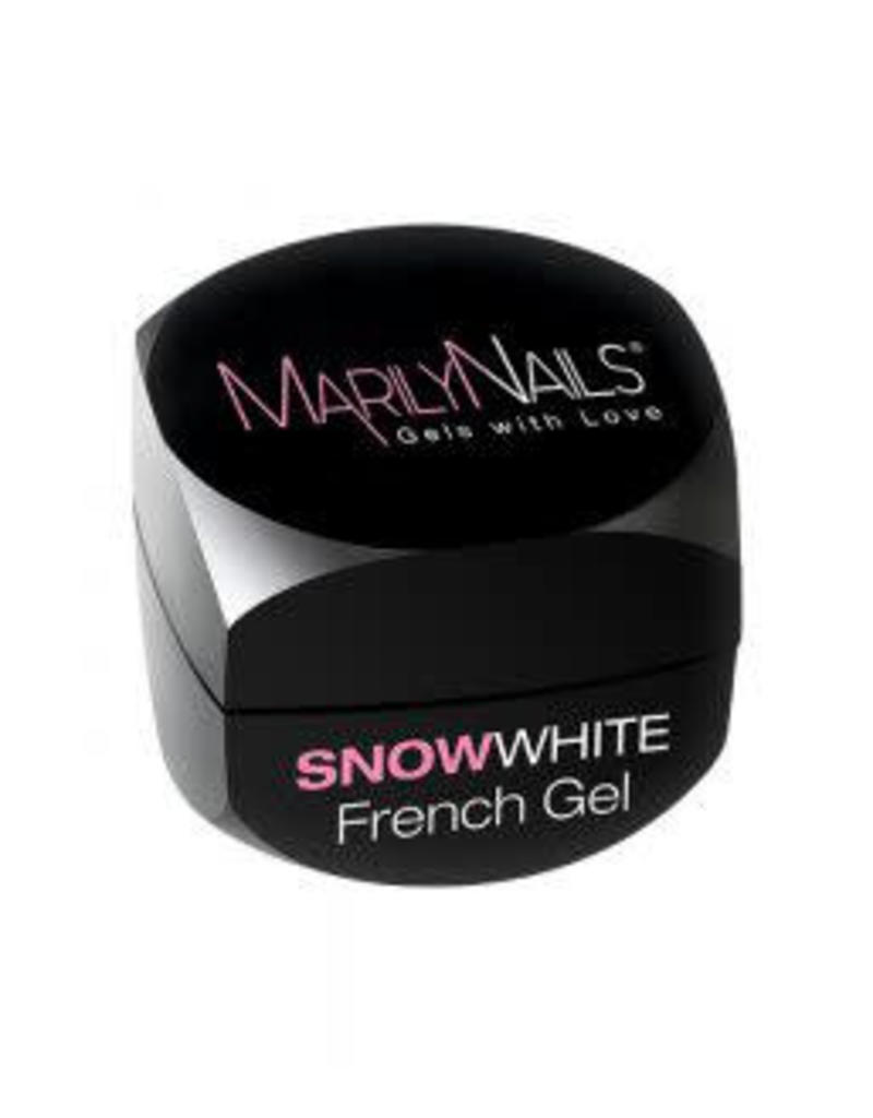 MarilyNails MN  SnowWhite French Gel 3 ml.