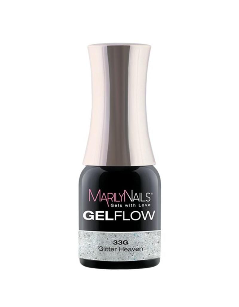 MarilyNails MN GelFlow - Glitter Heaven #33G