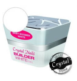 Crystal Nails CN Builder gel Baby Boomer White 15 ml