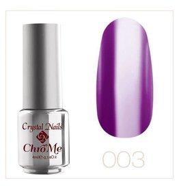 Crystal Nails CN CrystaLac ChroMe  #3 4 ml.