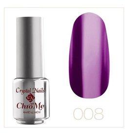 Crystal Nails CN Unique chrome effect #8  4 ml.