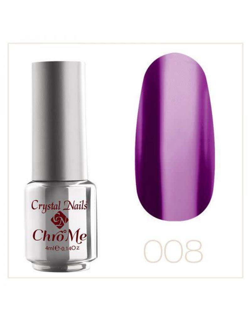 Crystal Nails CN CrystaLac ChroMe  #8  4 ml.