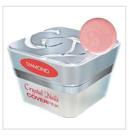 Crystal Nails CN Builder gel Cover pink Diamond 15 ml