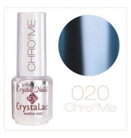 Crystal Nails CN CrystaLac ChroMe  #20  4 ml.