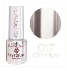 Crystal Nails CN Unique chrome effect #17  4 ml.