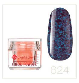 Crystal Nails CN Color Powder 3,5 gr. #624 Dewy Blueberry