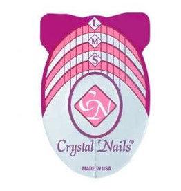 Crystal Nails CN  sjablonen 500 st.