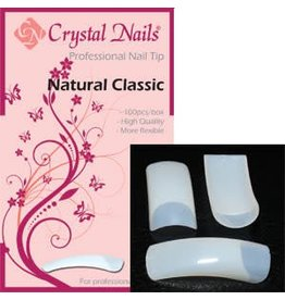 Crystal Nails CN tip Natural Classic 100 st.