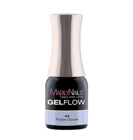 MarilyNails MN GelFlow -  Purple Clouds #44