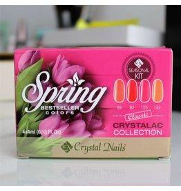 Crystal Nails CN crystalac Collection Spring GL69/GL82/GL125/GL142
