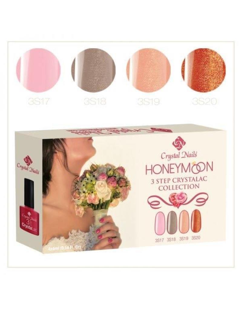 Crystal Nails CN crystalac Collection Honeymoon 3S 17-18-19-20