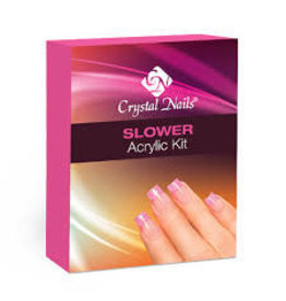 Crystal Nails CN Slower acrylic kit