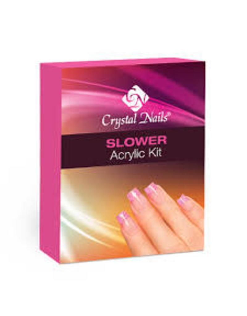 Crystal Nails CN Slower acrylic kit