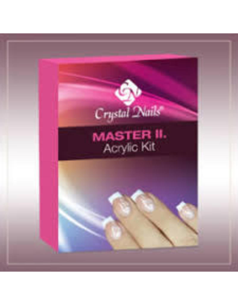 Crystal Nails CN Master II acrylic kit