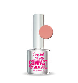 Crystal Nails CN Compact Base Gel Translucent Nude 8ml