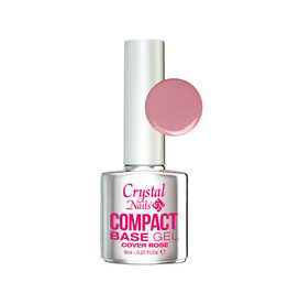 Crystal Nails CN Compact Base Gel Cover Rose 8ml
