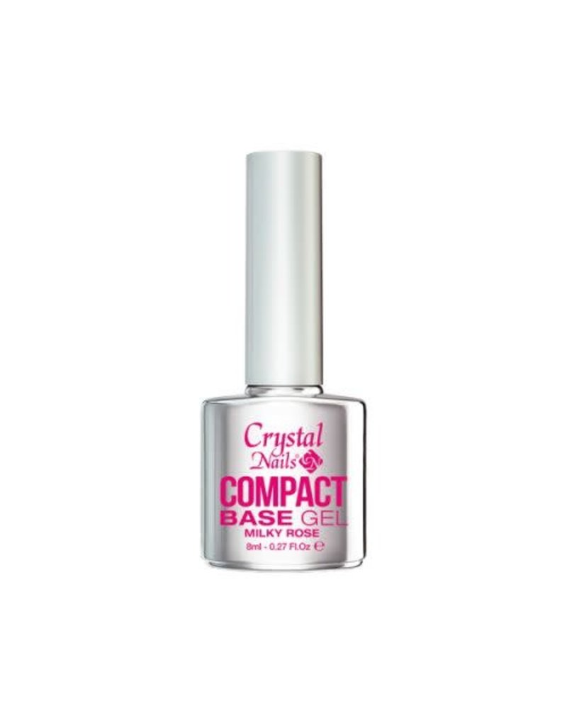 Crystal Nails CN Compact Base Gel Milky Rose 8ml
