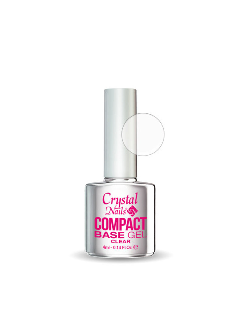 Crystal Nails CN Compact Base Gel Clear 13ml