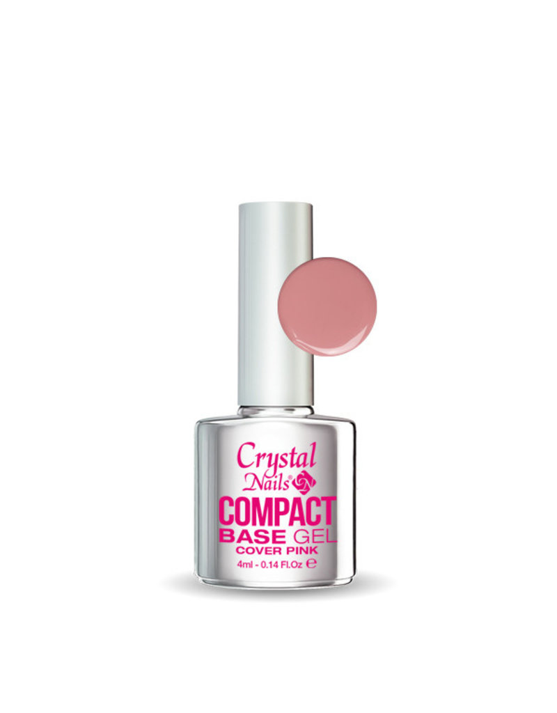 Crystal Nails CN Compact Base Gel Cover Pink 4ml