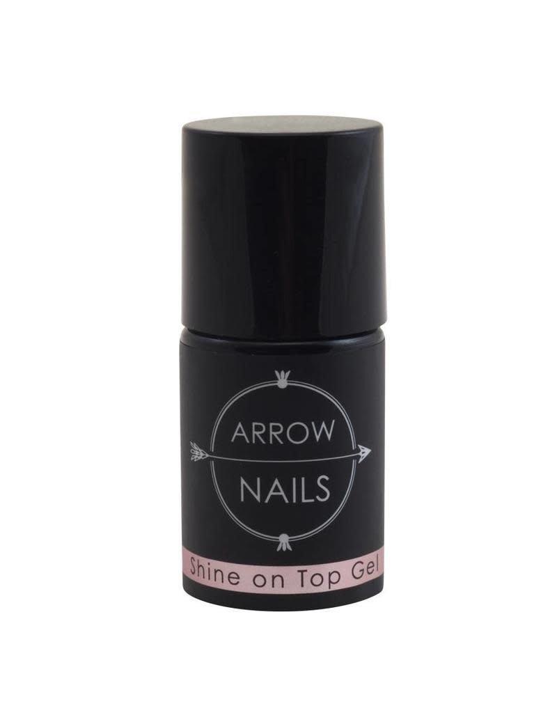 Arrow Nails AN Shine on Top Gel (non sticky) Sparkle