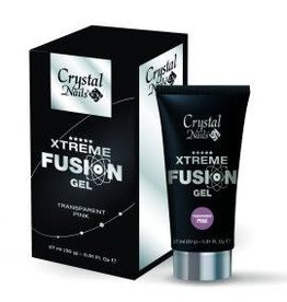 Crystal Nails CN Xtreme Fusion Gel - Transparent Pink 30 gr.