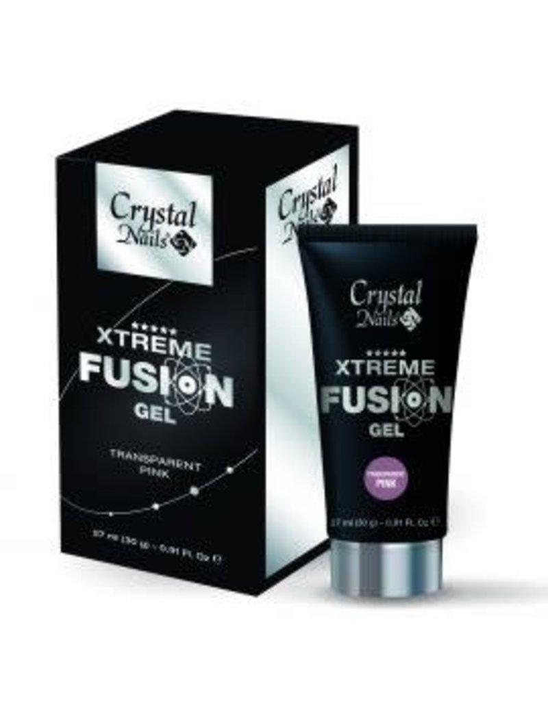 Crystal Nails CN Xtreme Fusion Gel - Transparent Pink 30 gr.