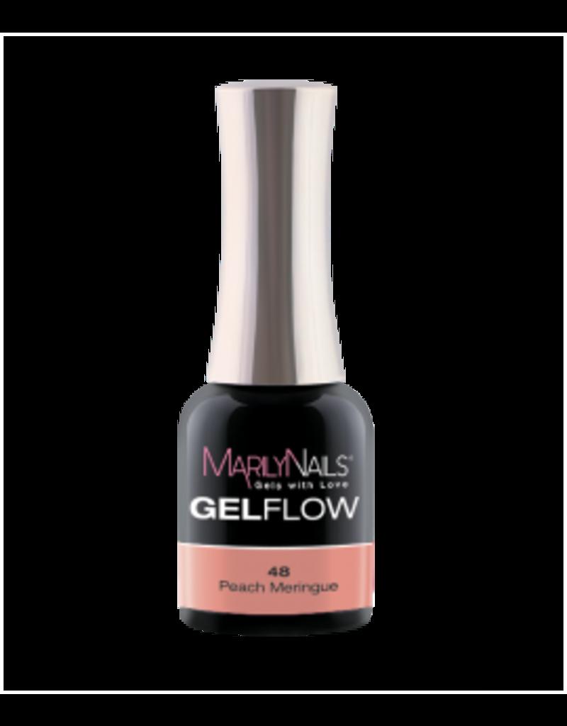 MarilyNails MN GelFlow  Peach Meringue #48 4ml.