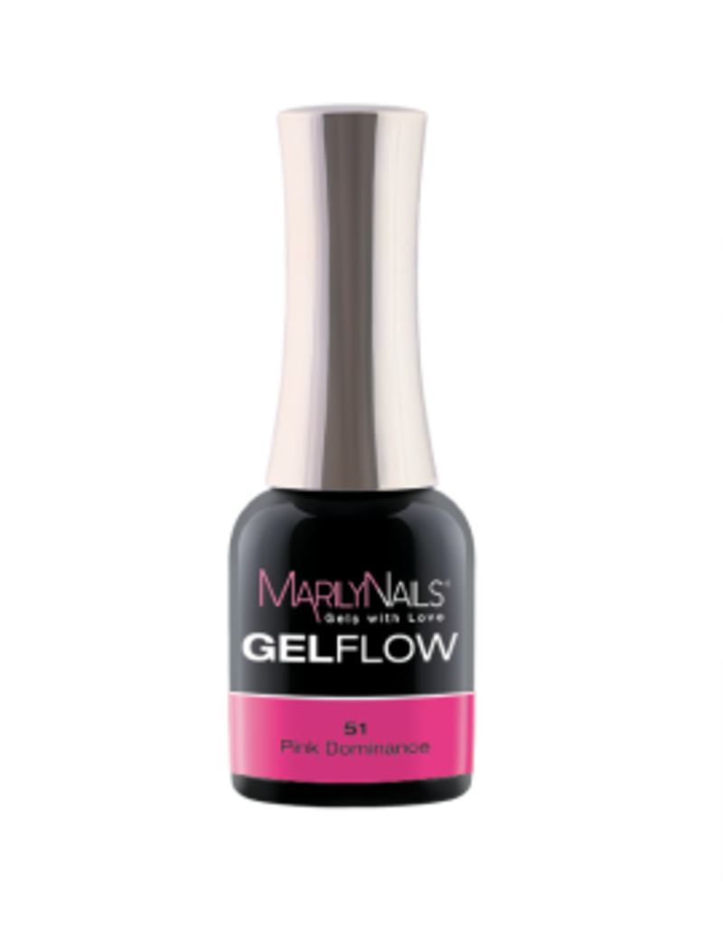 MarilyNails MN GelFlow Pink Dominance #51N 7ml.
