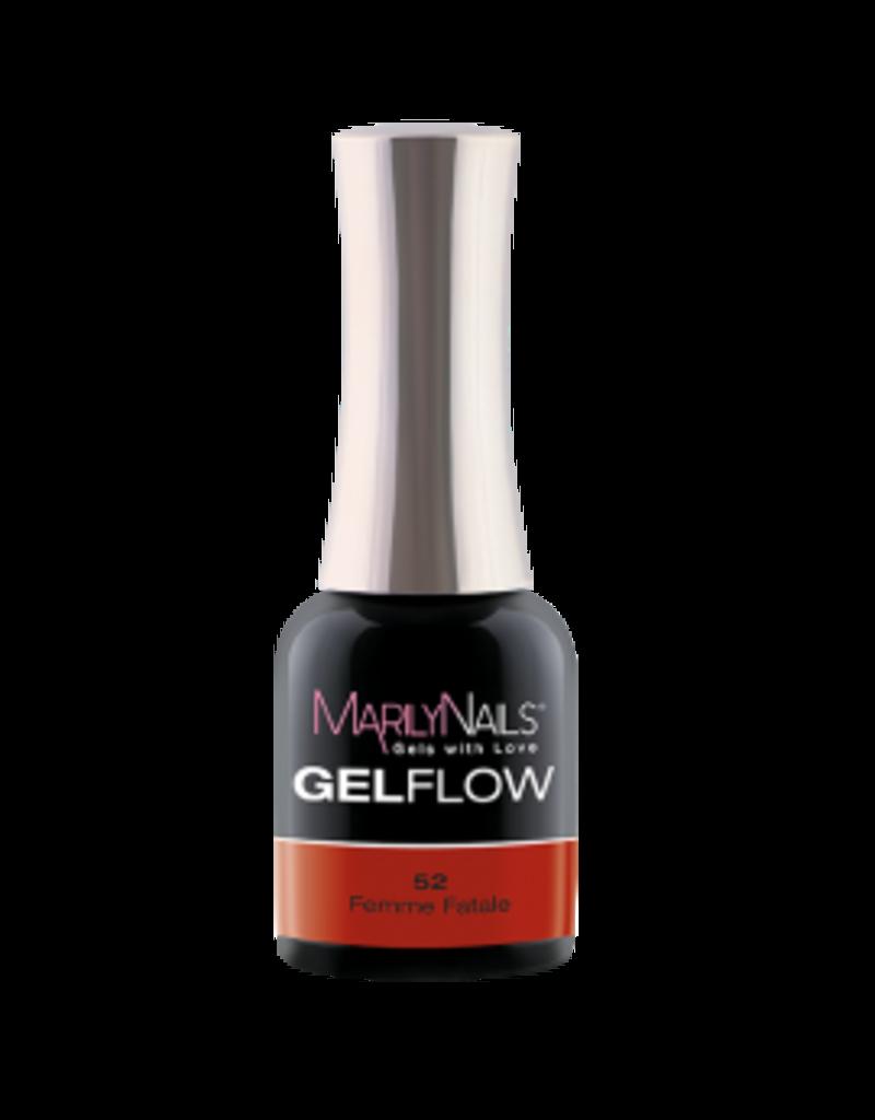MarilyNails MN GelFlow Femme Fatale #52 7ml.