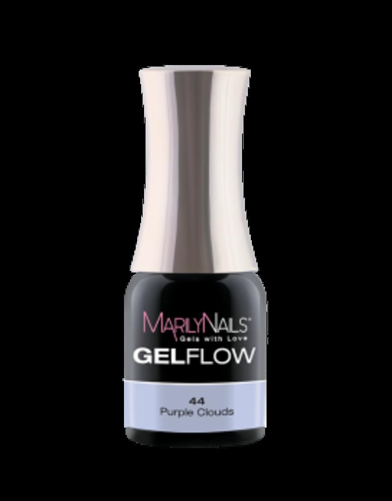 MarilyNails MN GelFlow -  Purple Clouds #44