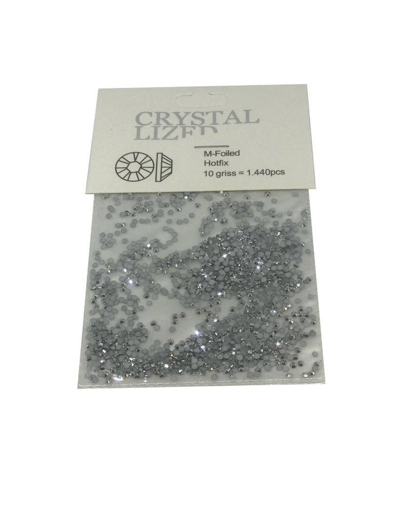 Silver small Crystal 1440 pcs
