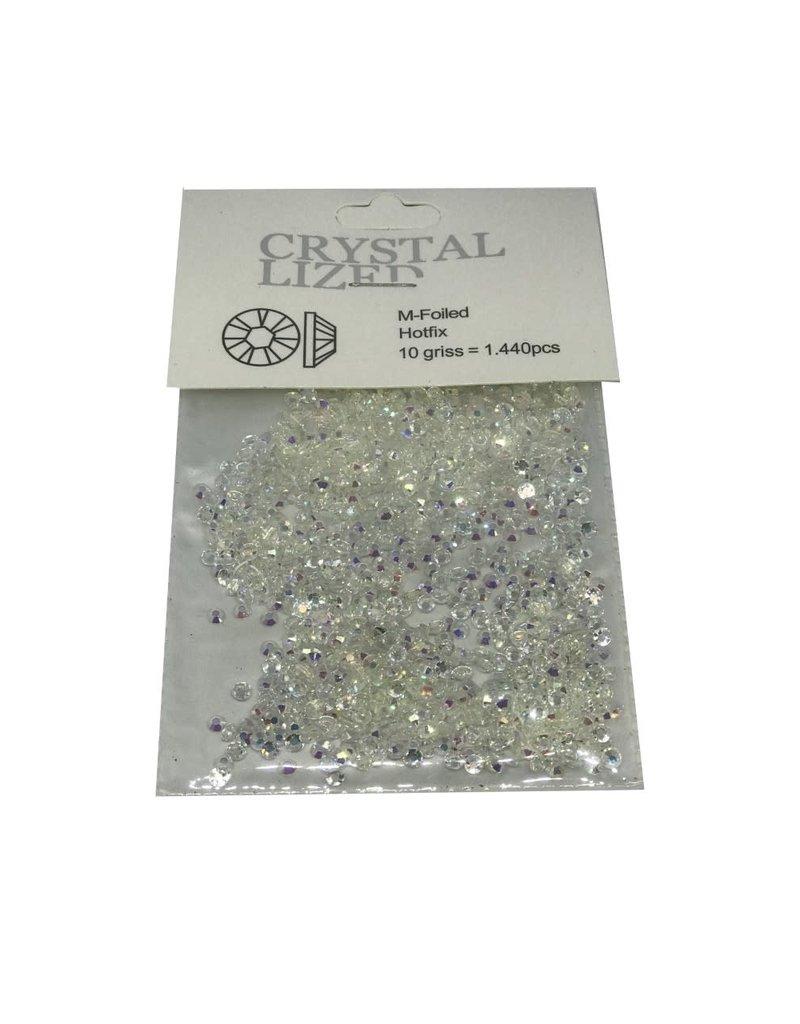 Off white Crystal 1440 pcs