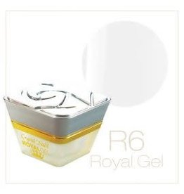 Crystal Nails CN Royal Color Gel 4,5 ml. #6 Ultra White