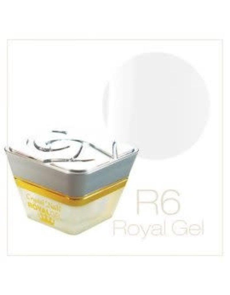 Crystal Nails CN Royal Color Gel 4,5 ml. #6 Ultra White