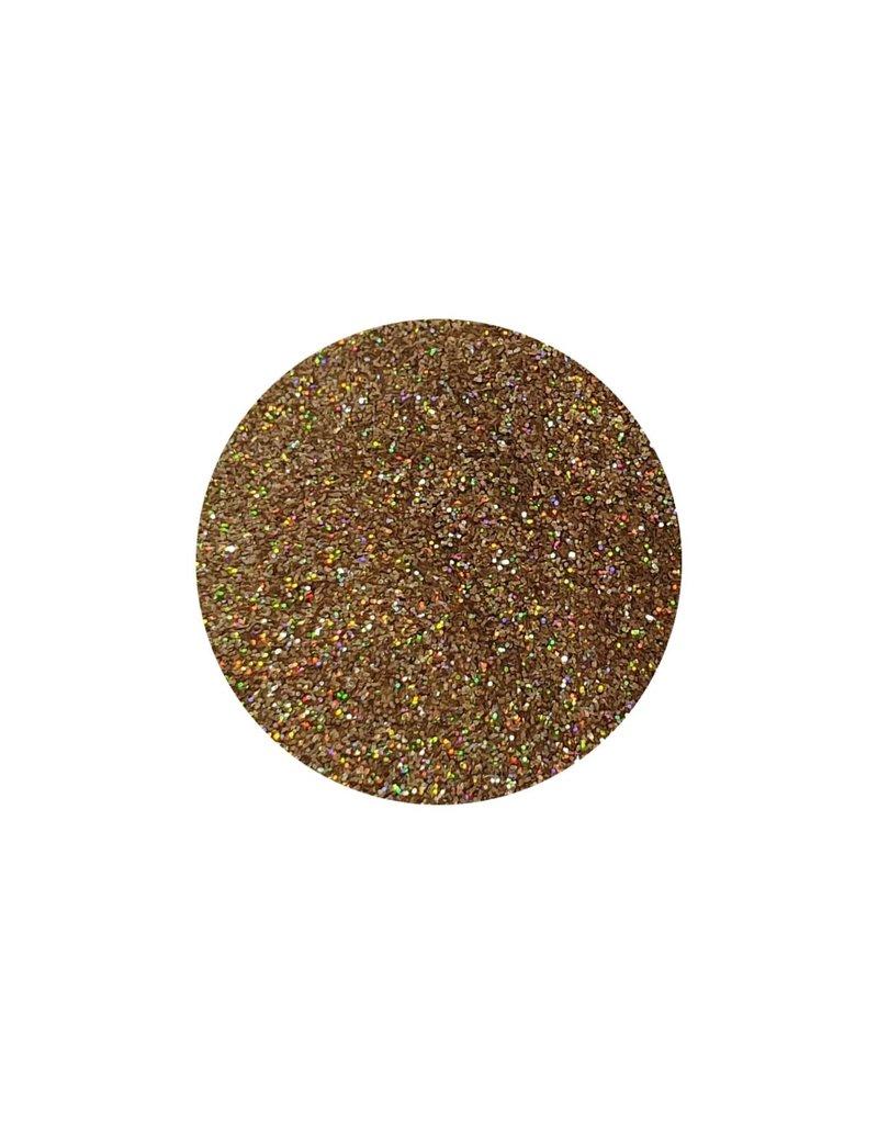 AN Glitter dust 25 gr. Strawberry blonde gold 'holo'