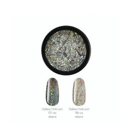Crystal Nails CN Galaxy Holo ChroMirror chrome