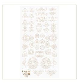 Crystal Nails CN Water decals Rococo Arany (gold)